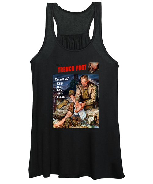 This Is Trench Foot - Prevent It Women's Tank Top