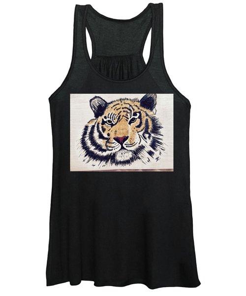 Tiger Tiger Burning Bright Women's Tank Top