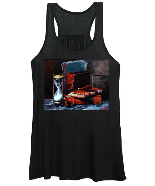Time And Old Friends Women's Tank Top