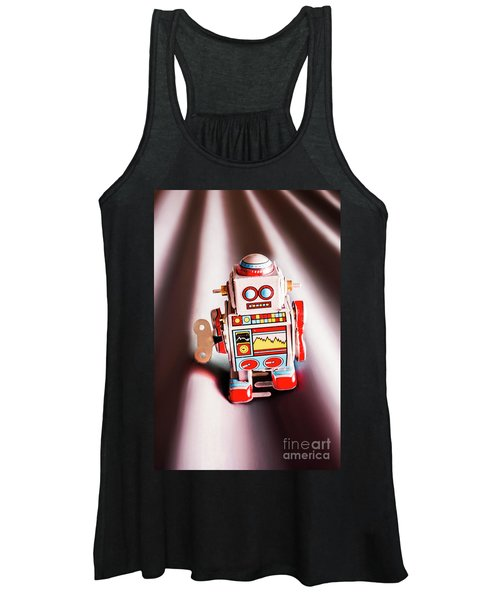 Tin Toys From 1980 Women's Tank Top