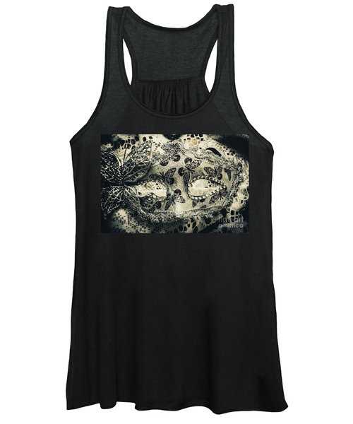 Toned Image Of Beautiful Festive Venetian Mask Women's Tank Top