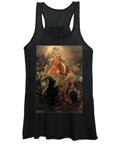 Tor's Fight With The Giants Women's Tank Top