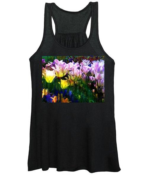Totally Tulips Women's Tank Top