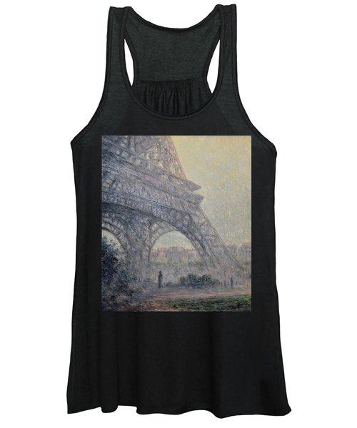 Paris , Tour De Eiffel  Women's Tank Top