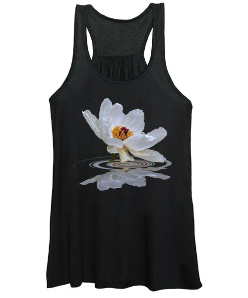 Tree Peony Reflections Women's Tank Top