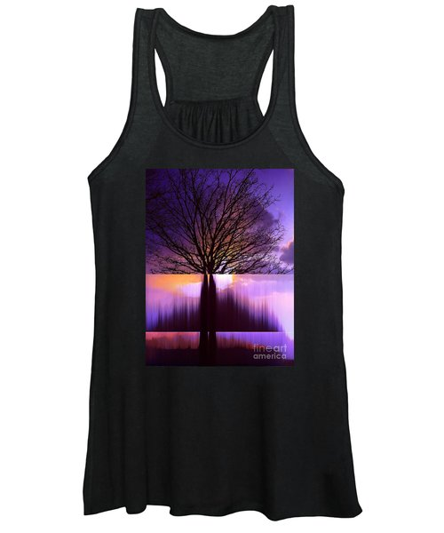 Disturbing The Rule Of Thirds Women's Tank Top