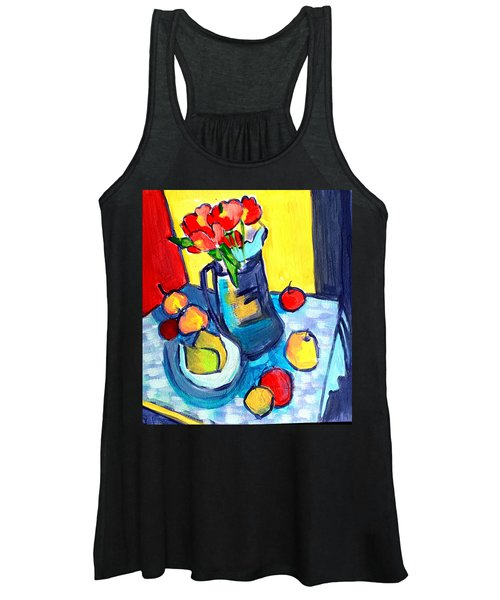 Tulip Still Life Women's Tank Top