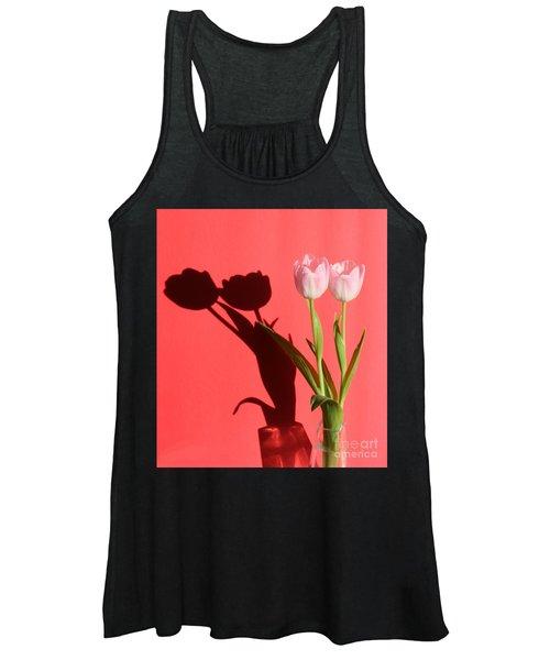 Tulips Casting Shadows Women's Tank Top