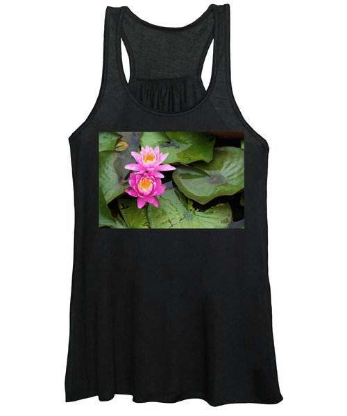 Two Pink Lilies Women's Tank Top