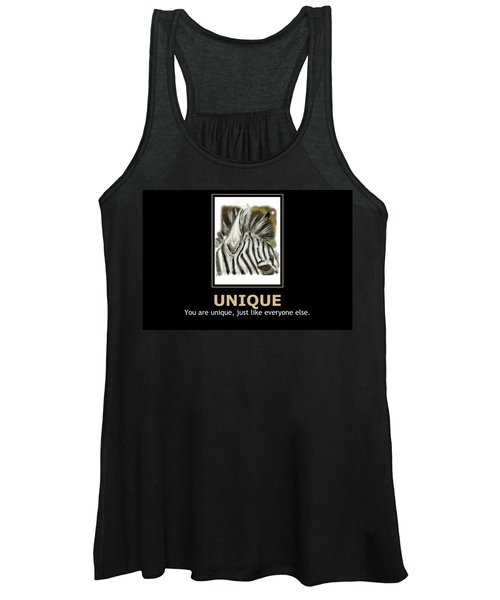 Unique Motivational Poster Women's Tank Top