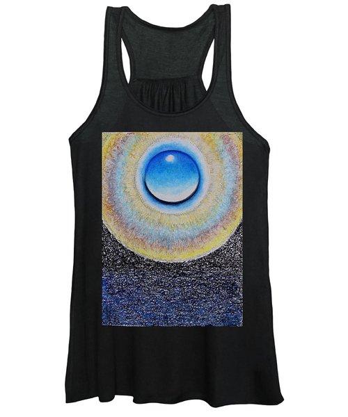 Universal Eye In Blue Women's Tank Top
