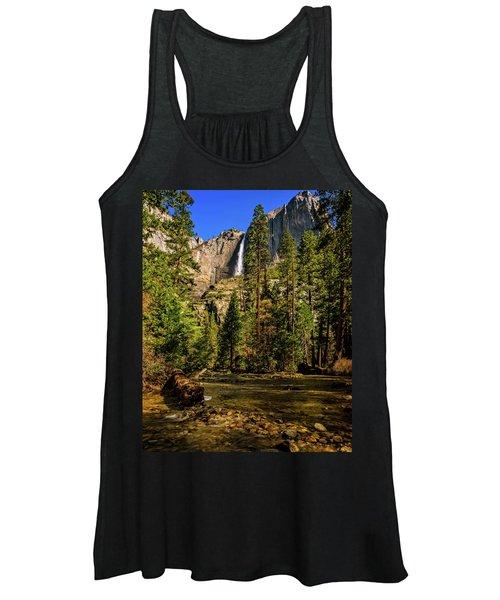 Upper Yosemite Falls From Yosemite Creek Women's Tank Top