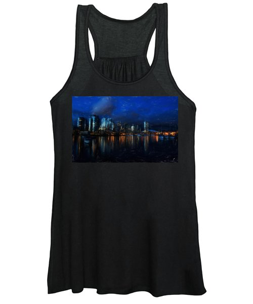 Vancouver At Dusk Women's Tank Top