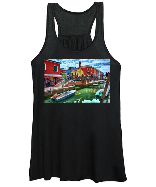 Vibrant Dreams Floating In The Air Women's Tank Top