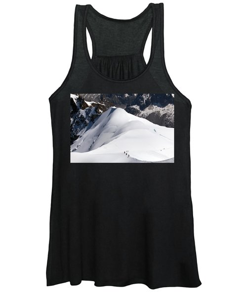 View From Aiguille Du Midi Women's Tank Top