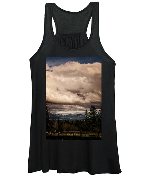 View From Flicka Farm Women's Tank Top