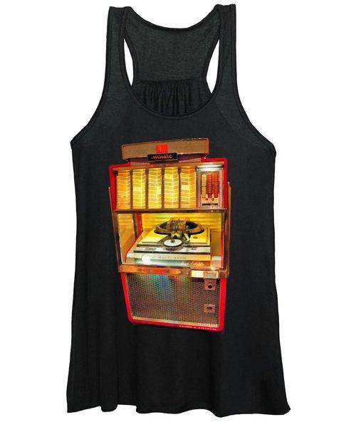 Vintage Jukebox Tee Women's Tank Top