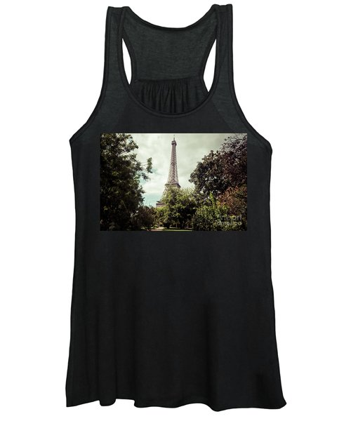 Vintage Paris Landscape Women's Tank Top