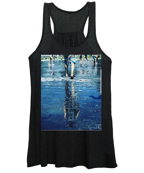 Walking On The Water Women's Tank Top