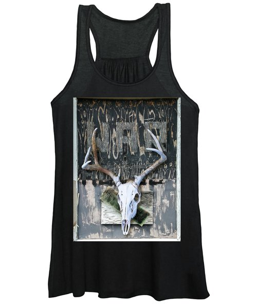 War Skull Women's Tank Top