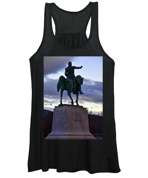 Washington Monument At West Point Women's Tank Top