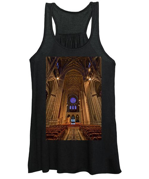 Washington National Cathedral Crossing Women's Tank Top