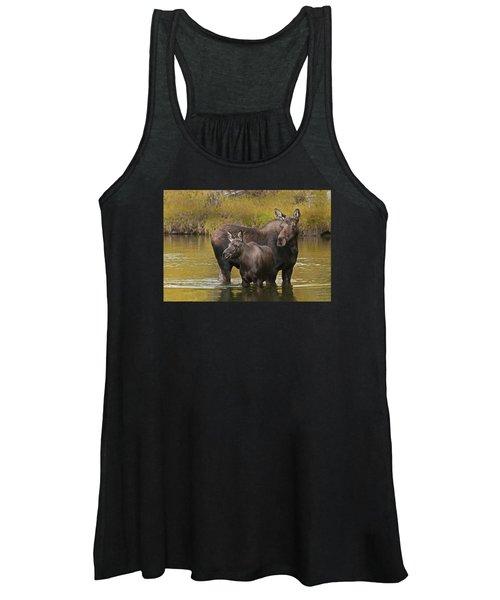 Watchful Moose Women's Tank Top
