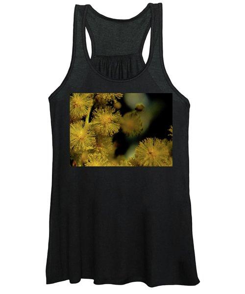 Wattle Flowers Women's Tank Top
