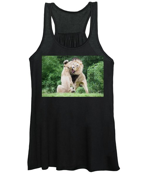 We Are Only Playing Oil Women's Tank Top