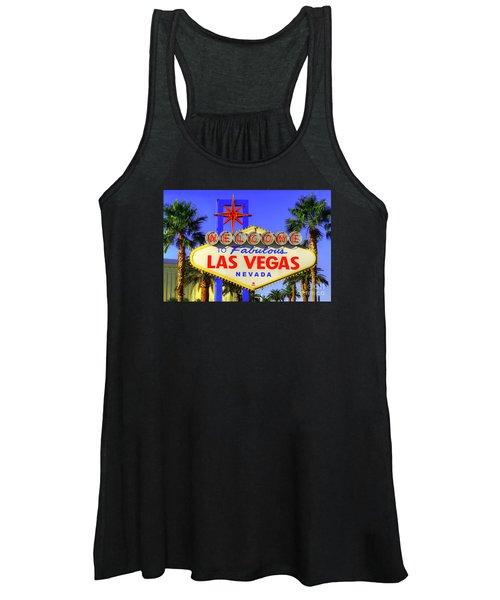 Welcome To Las Vegas Women's Tank Top