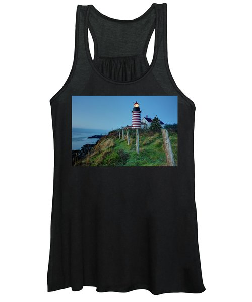 West Quoddy Head Light Women's Tank Top