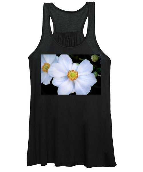 White Flower Women's Tank Top