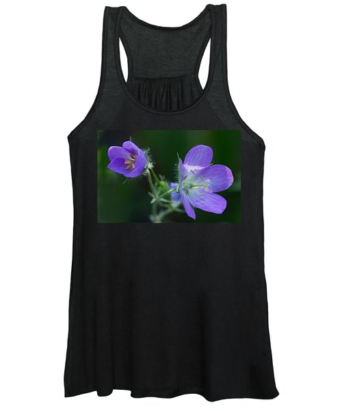 Wild Geraniums Women's Tank Top