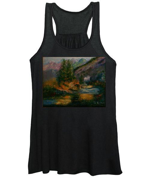 Wilderness Stream Women's Tank Top