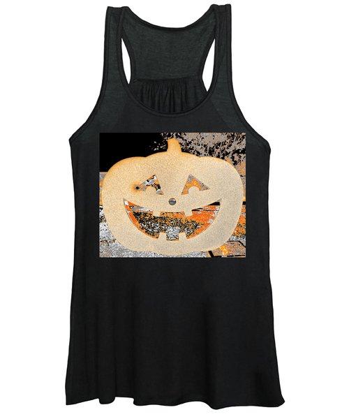 Window Pumpkin #3 Women's Tank Top