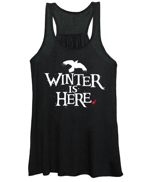 Winter Is Here - White Raven Women's Tank Top
