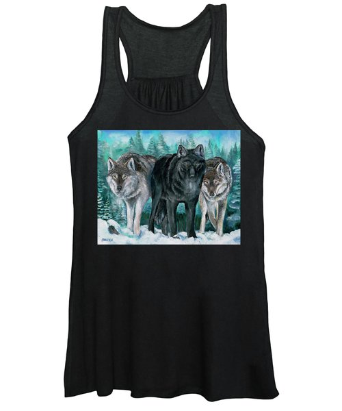 Winter Wolves Women's Tank Top