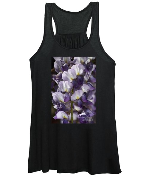 Wisteria In Spring Women's Tank Top