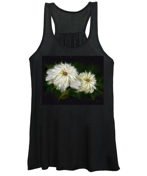 Withering Peony Women's Tank Top