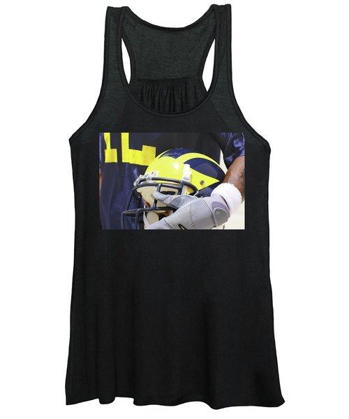 Wolverine Cradles Helmet Women's Tank Top