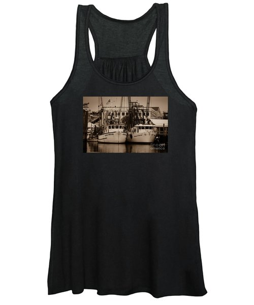 Working From The Creek Women's Tank Top