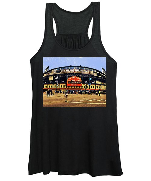 Wrigley Field Women's Tank Top
