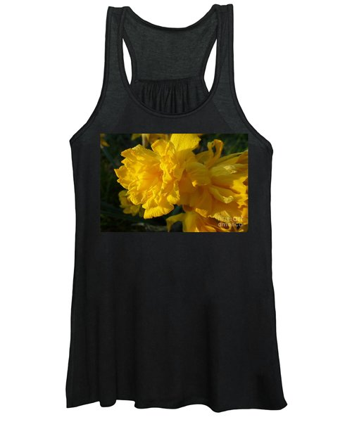 Yellow Daffodils Women's Tank Top