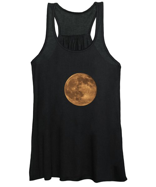 Yellow Moon Women's Tank Top