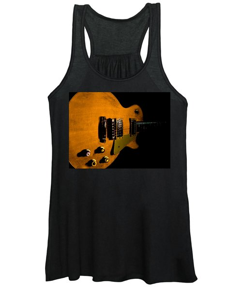 Yellow Relic Guitar Hover Series Women's Tank Top