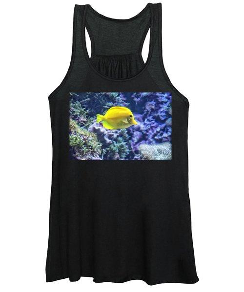 Yellow Tang Women's Tank Top
