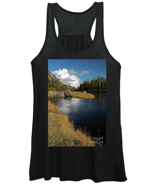 Yellowstone Nat'l Park Madison River Women's Tank Top