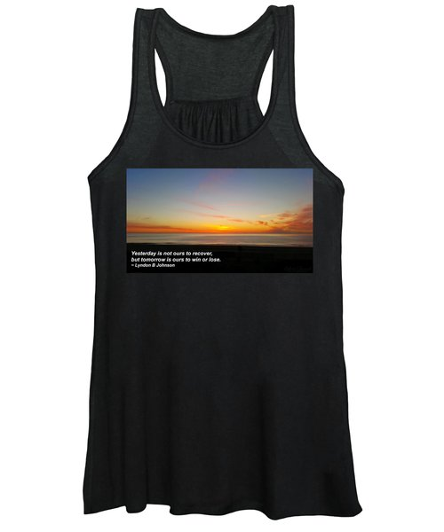 Yesterday Is Not Ours... Women's Tank Top