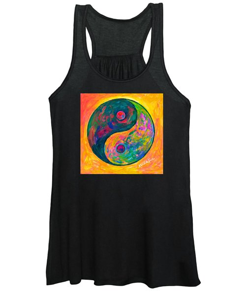 Yin Yang Flow Women's Tank Top