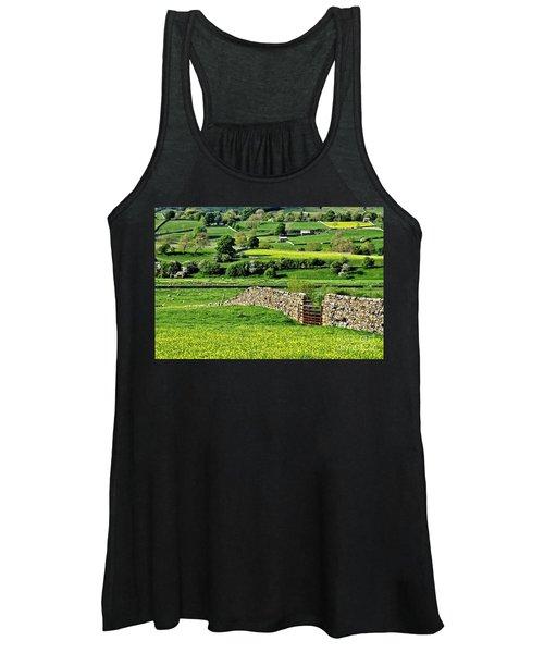 Yorkshire Dales Landscape Women's Tank Top